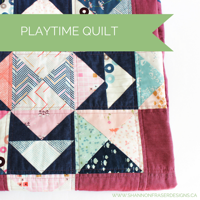 Best of 2016 | Playtime Quilt | Modern Quilting | Shannon Fraser Designs
