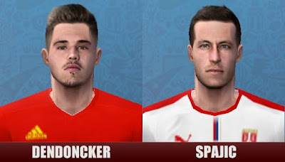 PES 6 Faces Dendoncker & Spajic by Sevenes