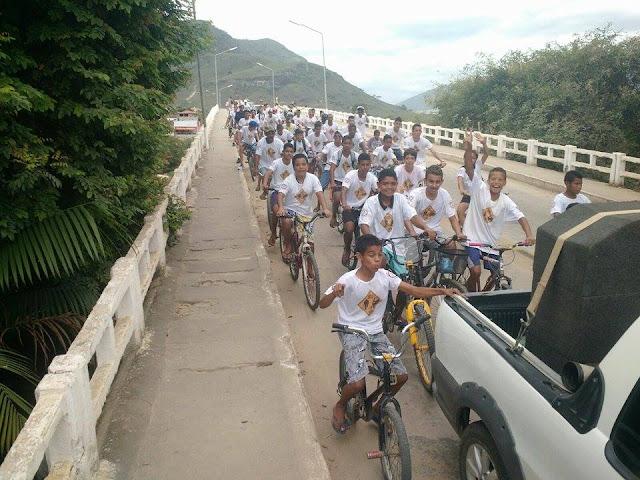 Ciclistas de Almenara MG