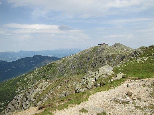 Deresze (słow. Dereše, węg. Déres; 2004 m n.p.m.) - widok na Chopok.