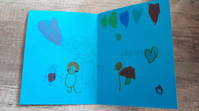 tuto diy enfant bricolage création maison carte facile rapide dessin fete