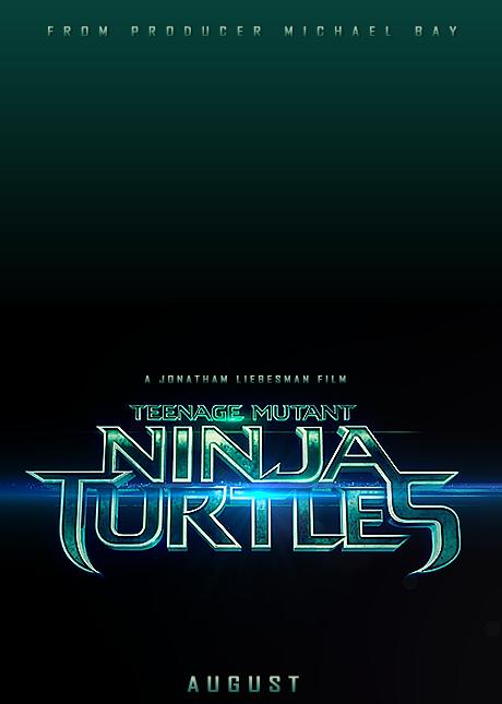 Teaser poster pentru filmul Teenage Mutant Ninja Turtles