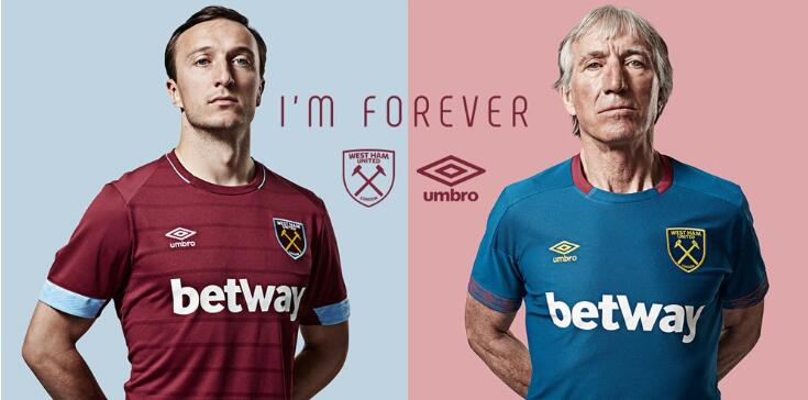 d5371a8967c Esta es la camiseta del West Ham 2018-2019.Nueva replica camiseta Premier  League 2018 baratas.