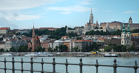 Arrivo a Budapest, la città del fiume
