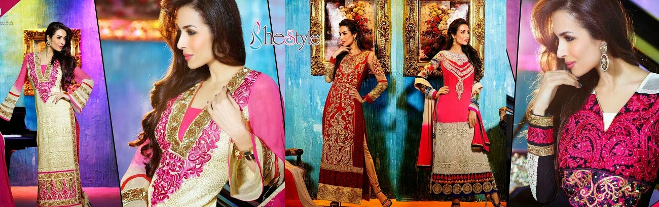 Shestyle India (Shestyle.in) - Buy Churidar Materials and Salwar Kameez Online in India
