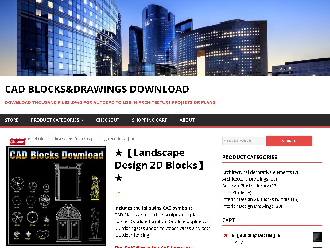 Cad library autocad blocks and drawings download for 2d architectural drawing software free