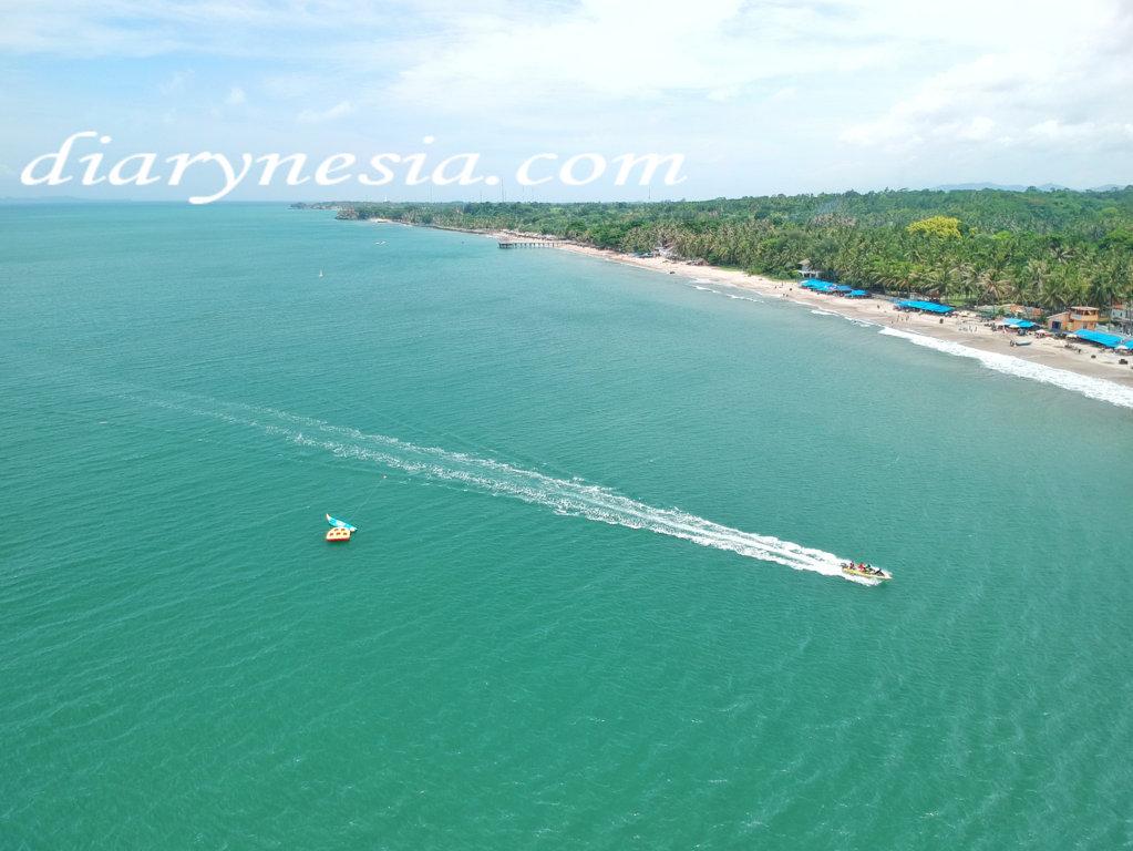 visiting anyer beach white sand, banten tourism, serang tourism, diarynesia