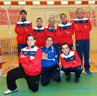fútbol-sala Aranjuez Discapacitados Integrandes