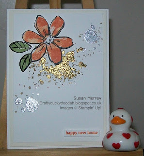 Stampin' Up! Made by Susan Simpson (Merrey) Independent Stampin' Up! Demonstrator, Craftyduckydoodah!, Garden in Bloom, Gorgeous Grunge,