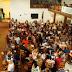 Servidores municipais confraternizam em jantar de Natal no CTG Coxilha de Ronda em Santiago