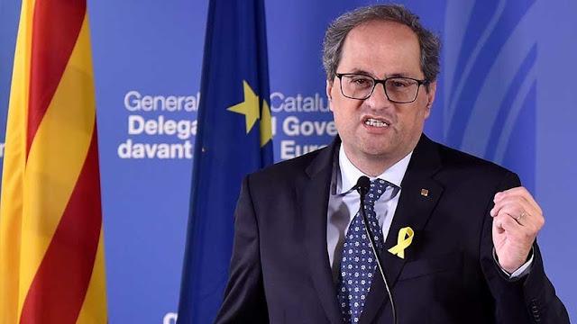 """Presidente de Cataluña: """"No hemos renunciado absolutamente a nada"""""""