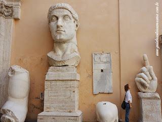 Museus Capitolinos praca capitolio guia roma portugues - A acrópole de Roma: Capitólio