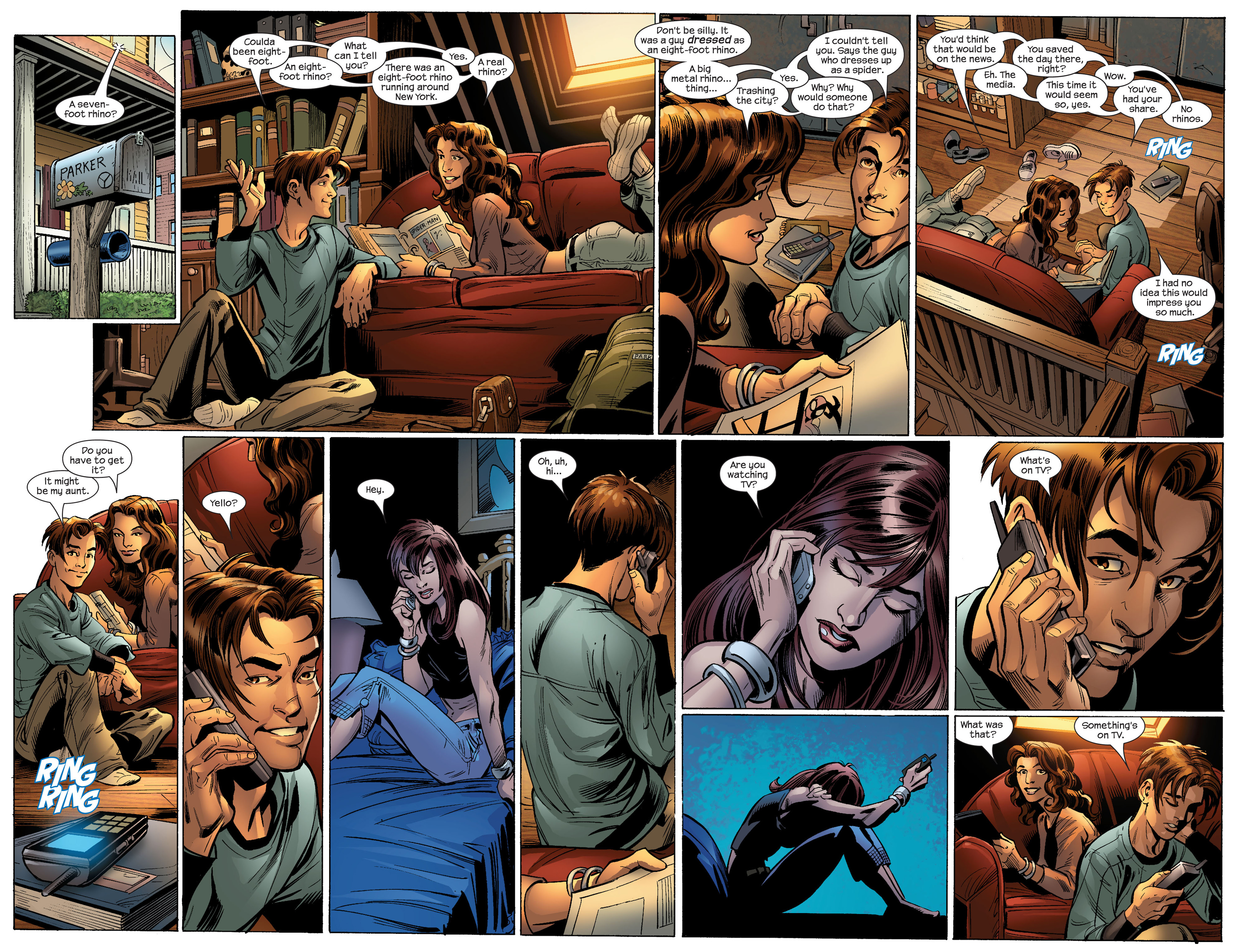 Read online Ultimate Spider-Man (2000) comic -  Issue #87 - 15