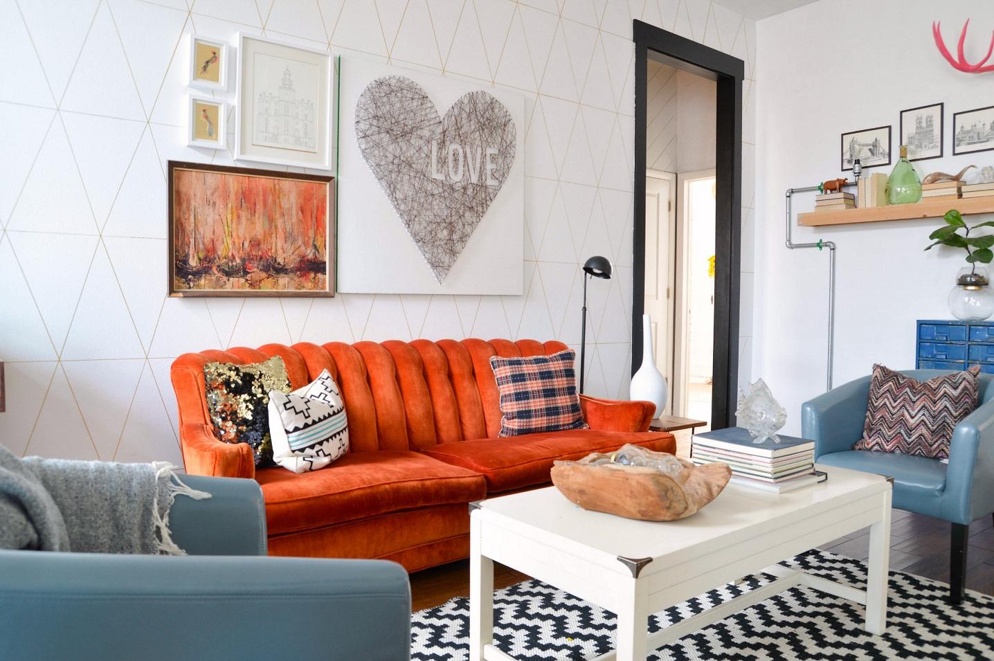 cara membuat dekorasi ruang tamu shabby chic dan cantik di
