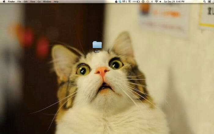 28 Creatively Hilarious Desktop Wallpapers We Wished We Had Thought Of First - My Wallpaper Because Of You All