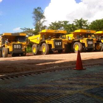 gps tracker tambang batubara, tambang kalimantan, tambang , truk beras, truk bawang, truk bakau