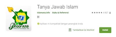 aplikasi Tanya Jawab Seputar Islam terbaik
