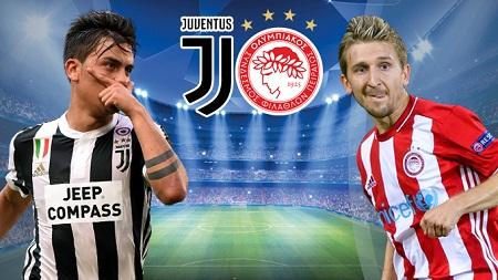 Assistir Juventus x Olympiakos ao vivo grátis em HD 27/09/2017