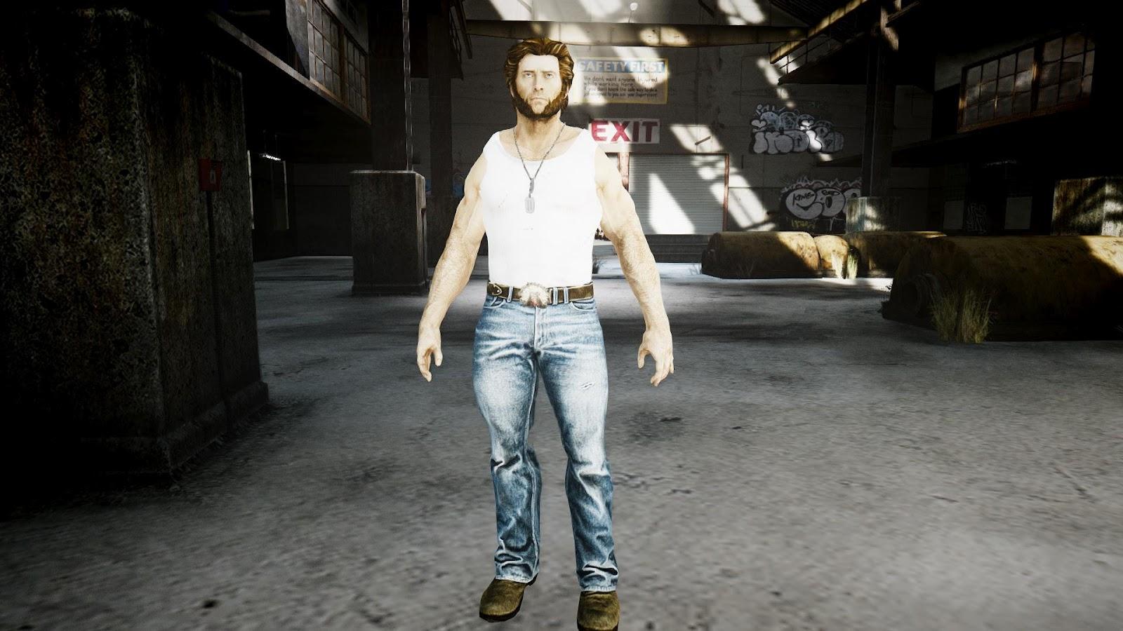 GTA 5,GTAV,GTA IV Mods And Skins: X Men Origins Wolverine Pack
