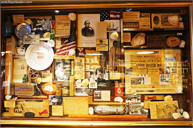 Decoraciones del Union Oyster House en Boston