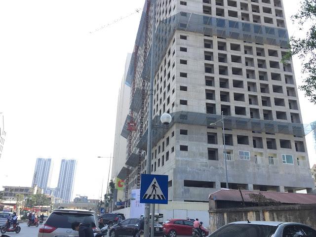 Thiết kế và tiến độ thi công tòa CT-07 Booyoung Vina