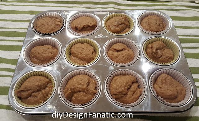 gluten free applesauce muffins, gluten free, cottage, cottage style, farmhouse, farmhouse style, diyDesignFanatic.com