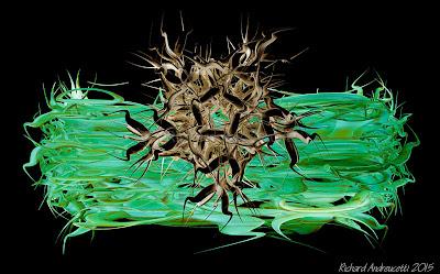 irish abstract artist, digital art