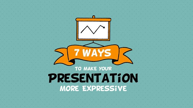 How to make your presentation more expressive