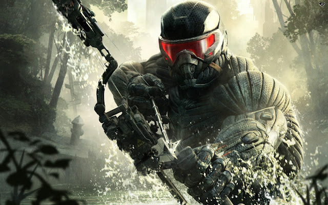 crysis 3 video game como papel de parede
