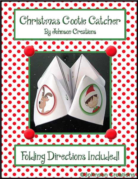 cootie catcher folding instructions
