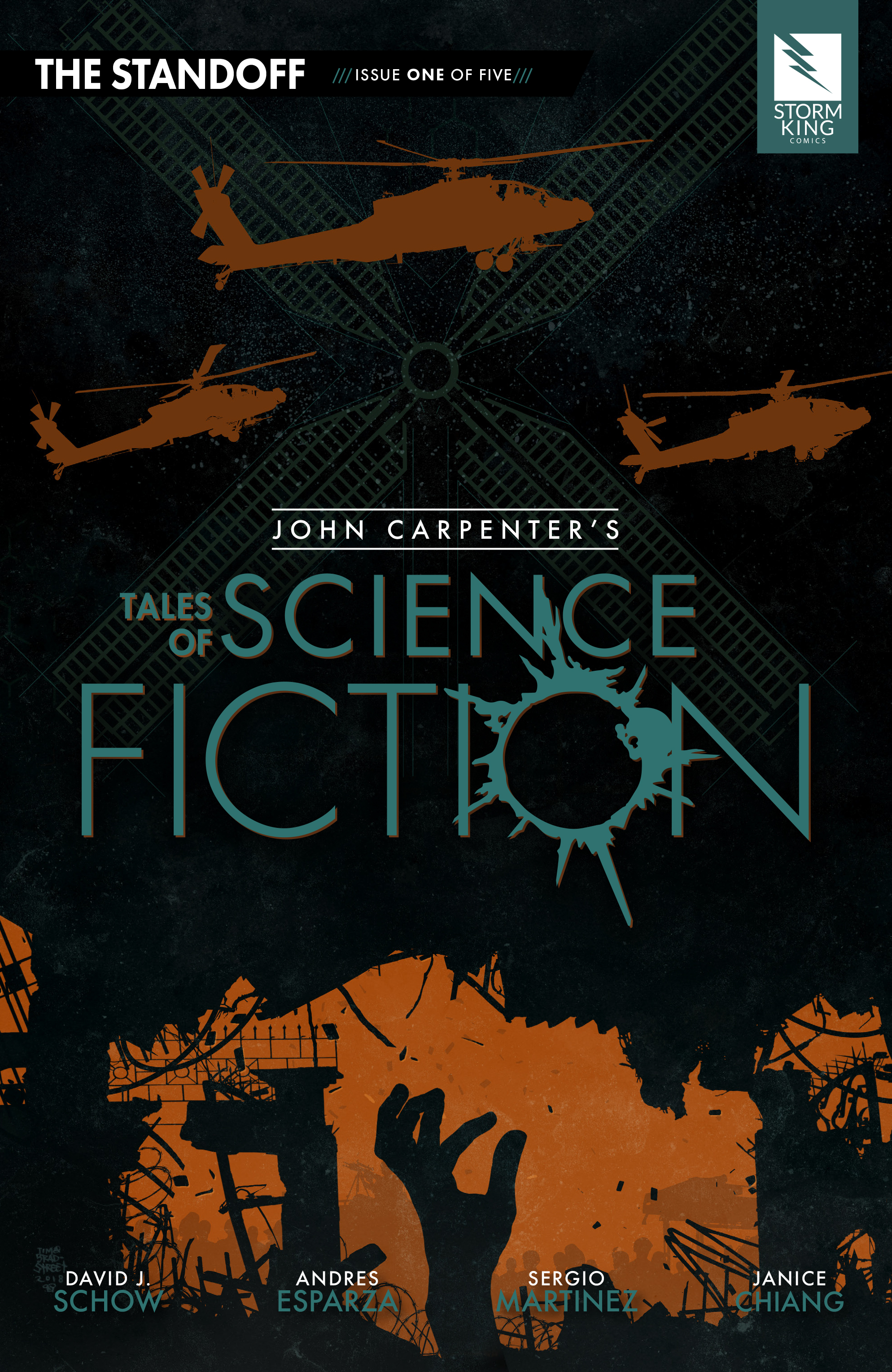John Carpenters Tales of Science Fiction: The Standoff 1 Page 1