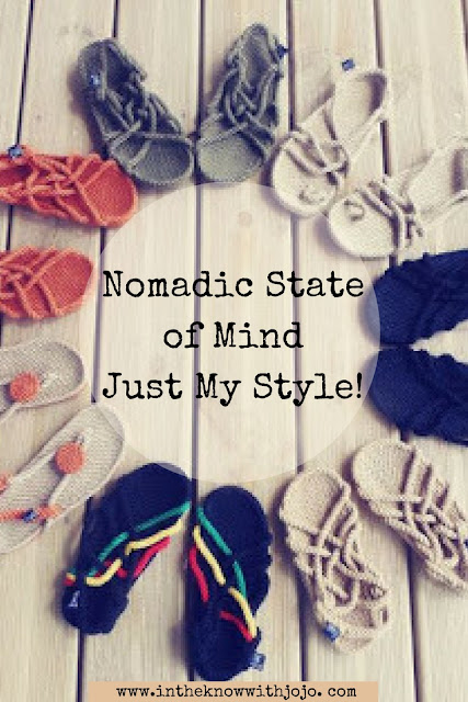 Spring/Summer  is almost upon us and I know most of us around the country are so ready to say goodbye to the snow!  And what better way to do it then with a pair or two of NOMADIC STATE of MIND footwear!