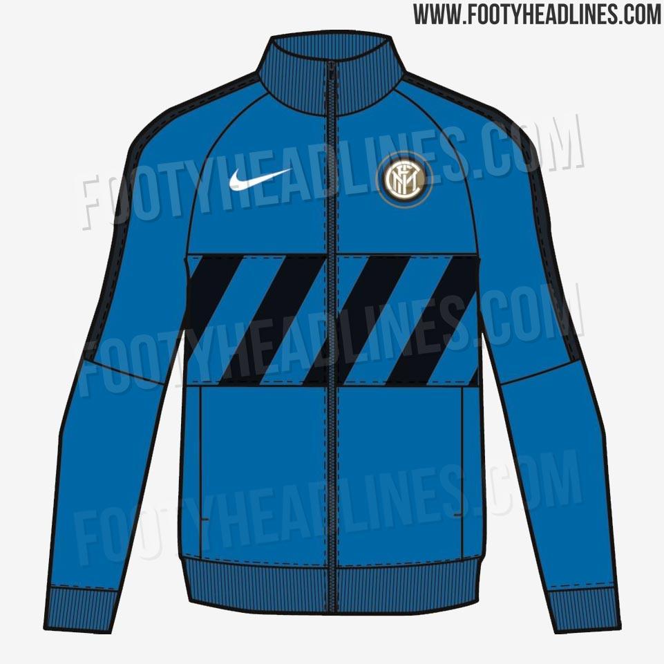 27f88f63c Diagonal Stripes Confirmed  2 Nike Inter Milan 19-20 Anthem Jackets ...