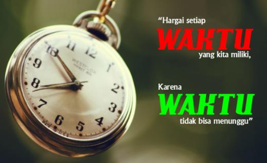 Kata Kata Motivasi Jangan Pernah Membuang Waktu Anda Percuma Begitu Saja