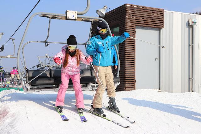出乎意料之外!2018韓國首爾滑雪跟團過程大公開|洪川大明滑雪場 IMG 9630