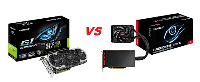 GeForce GTX 980 Ti vs Radeon FURY X