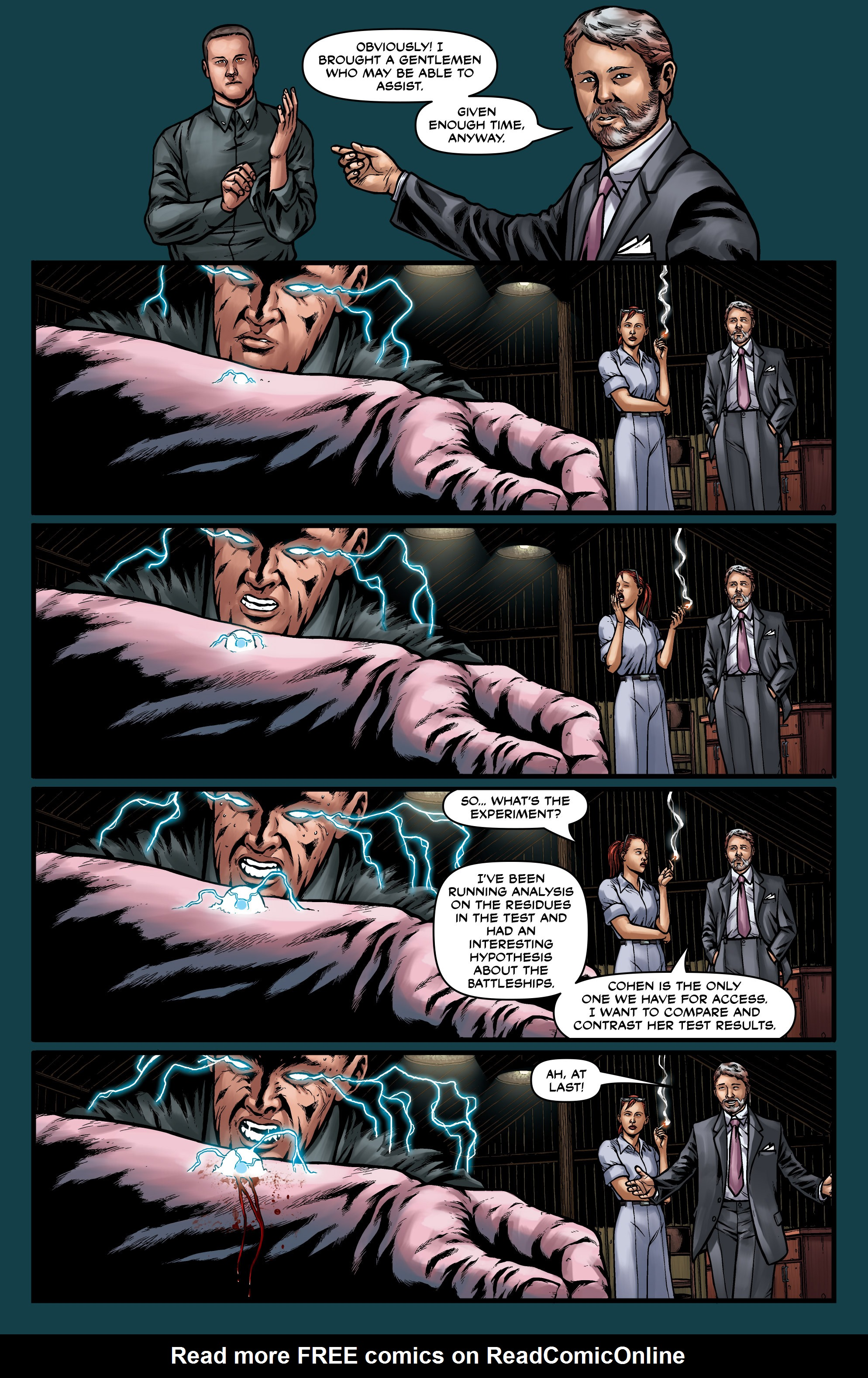 Read online Uber comic -  Issue #15 - 22