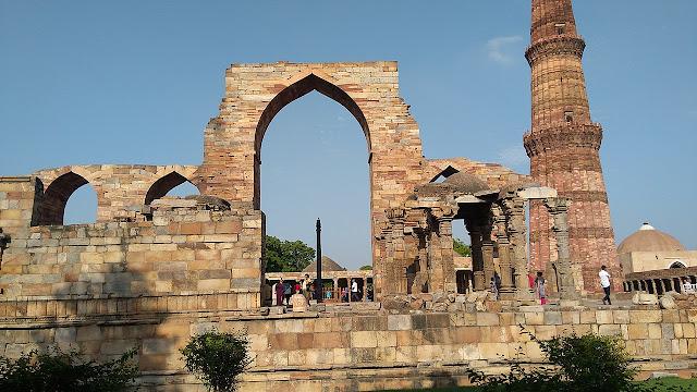 QUTUB MINAR FACT HISTORY DELHI