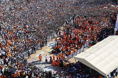August elections campaigns led by RT Raila Odinga. PHOTO | RAO