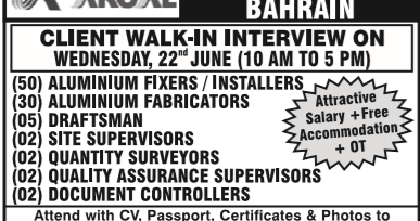 Aluminium Fabricator Salary