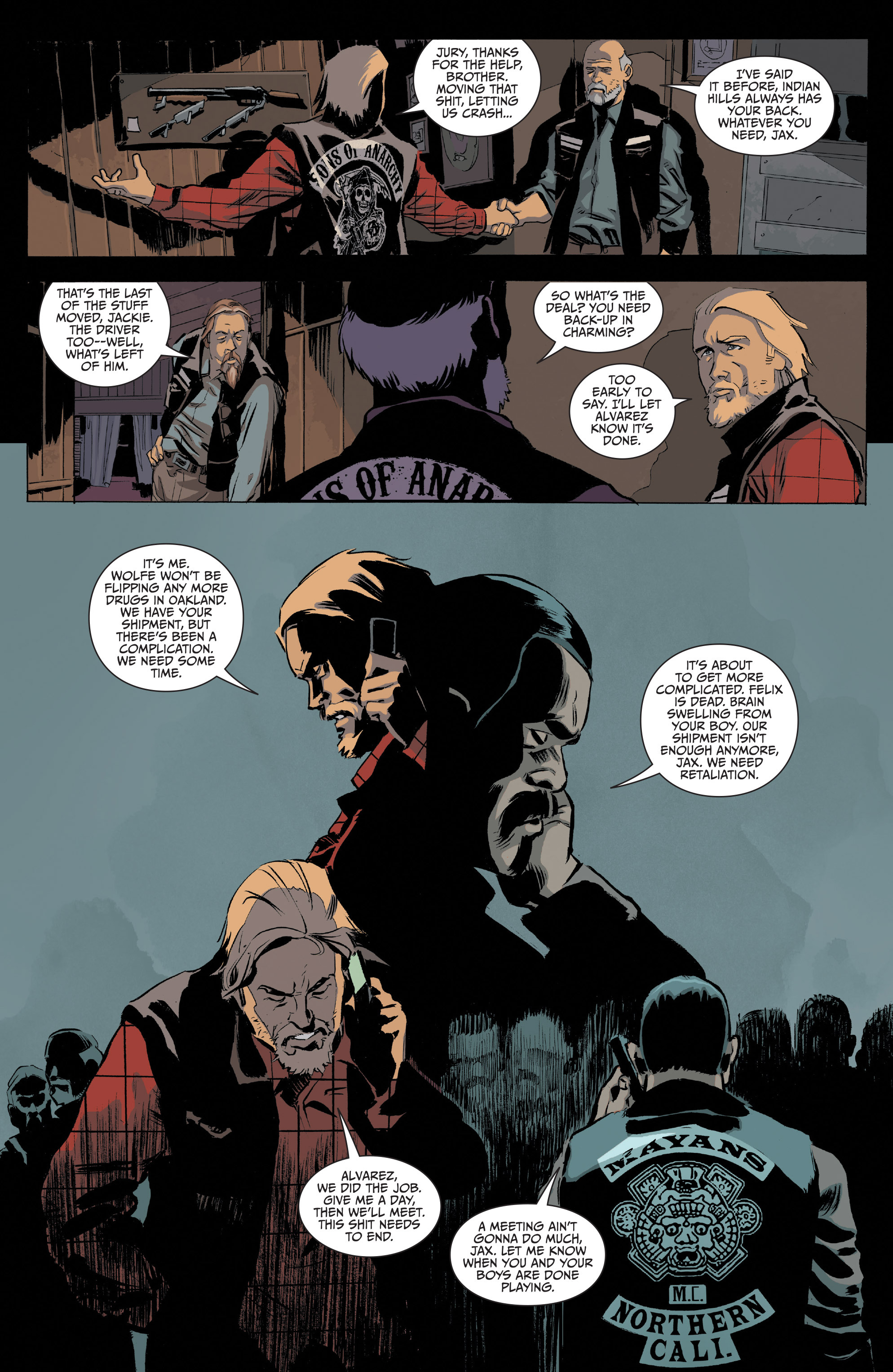 Read online Sons of Anarchy comic -  Issue #20 - 18