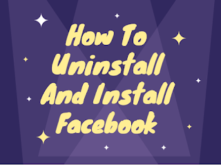 How to uninstall and install Fb