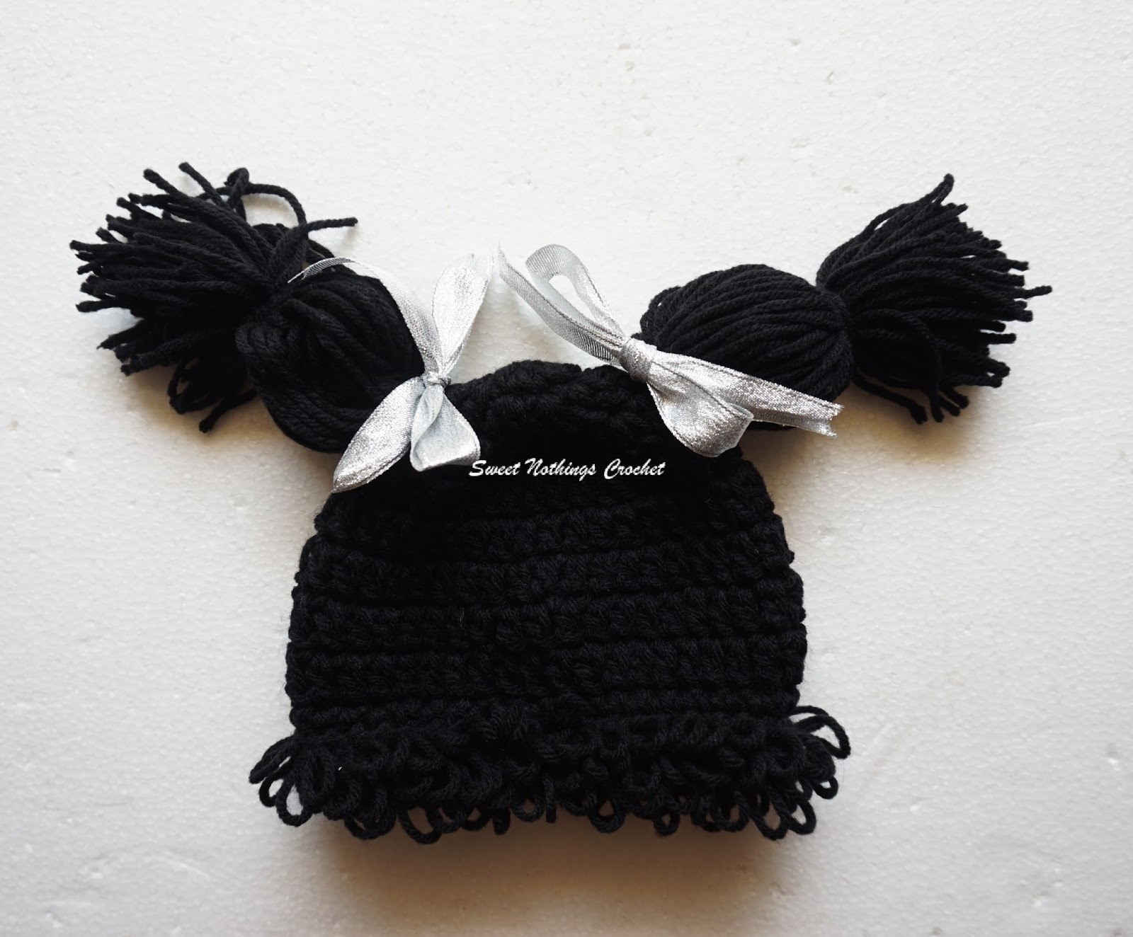 Sweet Nothings Crochet: CABBAGE PATCH DOLL HAT