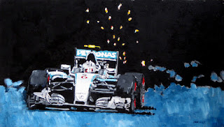 mercedes | formula 1 racing | racing art