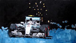 mercedes   formula 1 racing   racing art