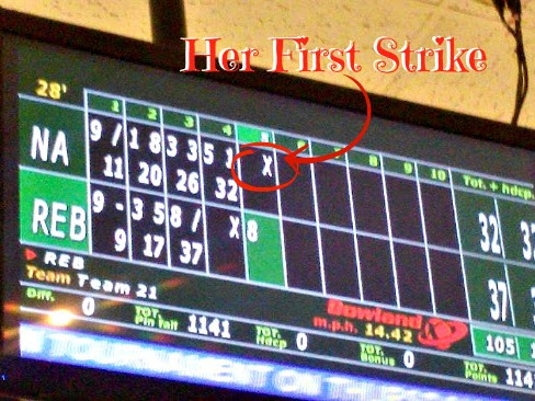 Wordless Wednesday - Strike