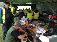 Lunchtime,The Sherwood Forest Archaeology Training Fieldschool