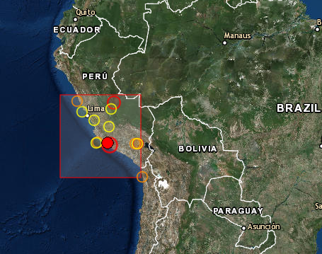 Earthquake Prediction: 5 7R in PERU