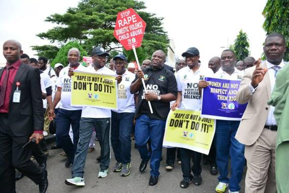 Lagos-State-Governor,-Akinwumi-Ambode-leads-an-all-male-walk-against-Sexual-&-Gender-Based-violence