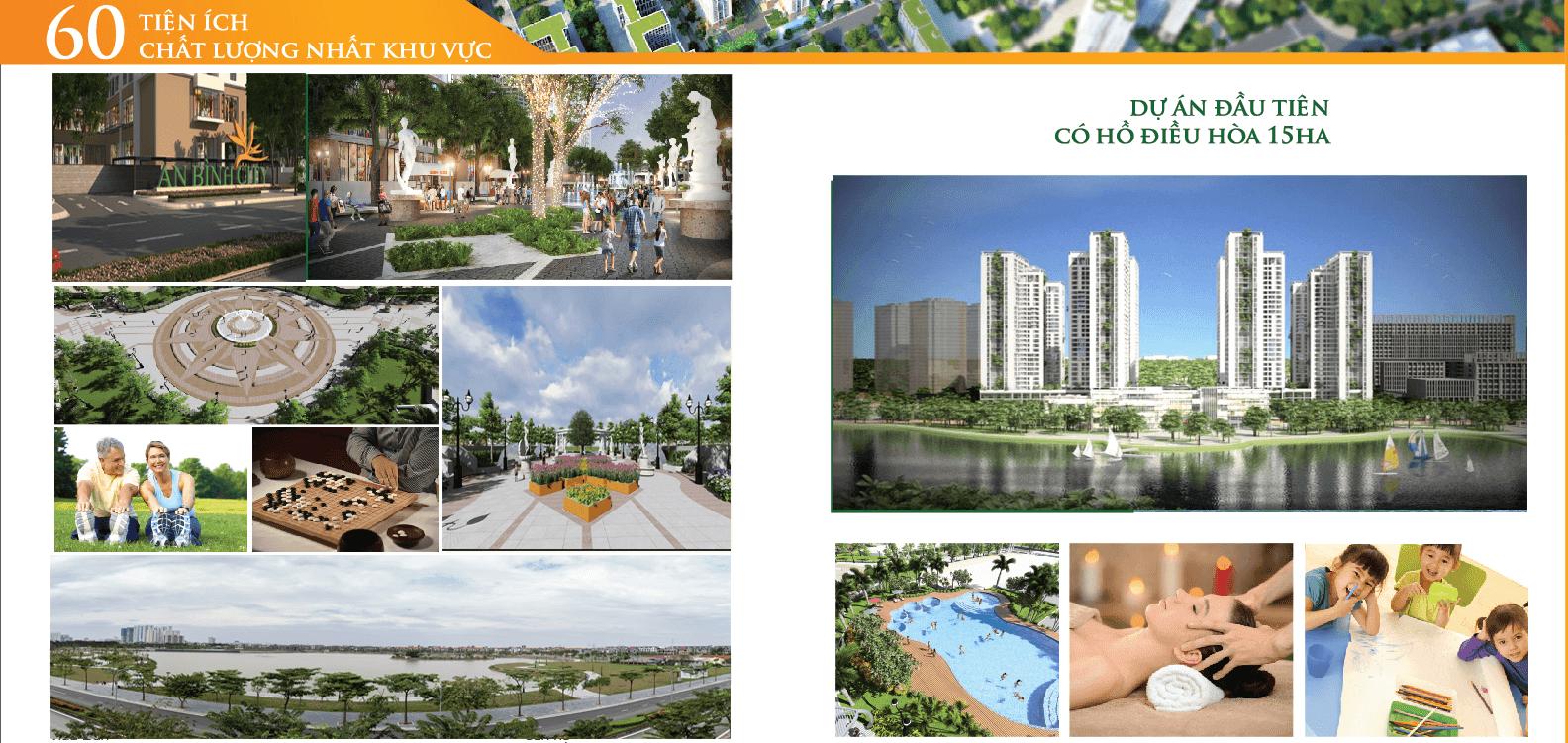 Hệ thống tiện ích dịch vụ cao cấp tại dự án chung cư An Bình City